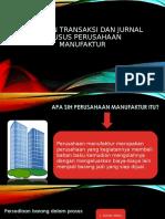 PPT Dokumen transaksi dan jurnal khusus perusahaan manufaktur.ppt