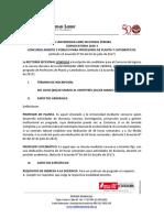 Convocatoria Docente 2020 1 Pereira