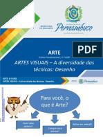ARTES VISUAIS – Cultura Visual A expressão e o cotidiano.pptx