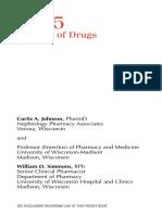 Handbook on drug dialysis 2005
