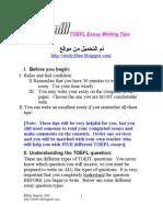 (2) (eBook - English) - ToEFL - ToEFL Essay Writing Tips