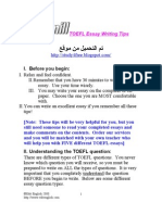 (2) (eBook - English) - ToEFL - ToEFL Essay Writing Tips