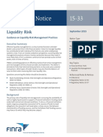 FINRA Regulatory Notice 15-33 2015