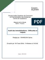 Audit des immobilisations  Difficultés et risques.PDF