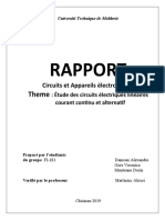 Circuite și Dispozitive Electrice laboratorul 1