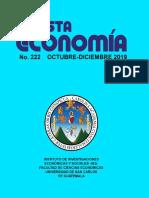 Revista Economía 222, octubre-diciembre-2019