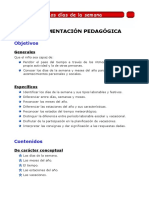 UNIDAD DIDACTICA LOS DIAS DE LA SEMANA