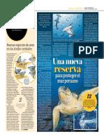 Una Nueva Reserva Para Proteger El Mar Peruano