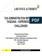tax administration reforms