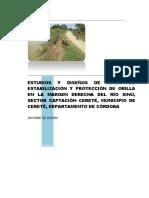 OBRAS DE PROTECCIÓN CONTRA LA EROSION FLUVIAL