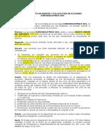 REGLAMENTO DE EMISION Y COLOCIACION DE ACCIONES AGROINDUSTRIAS SAS.doc