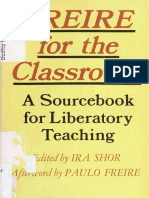 Freire for the Classroom A Sourcebook for Liberatory Teaching by Ira Shor (editor) Paulo Freire (afterword) (z-lib.org).pdf