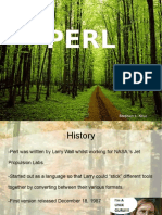PERL Presentation