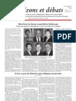Elections au Conseil fédéral suisse