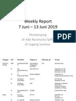 Weekly Report terakhir