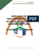 INFORME TÉCNICO NEPTUNIA _ SERV. DE MANTENIMIENTO DE ALERO EN OFICINAS ADMINISTRATIVAS.docx