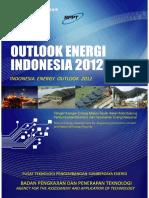 Outlook Energi Indonesia 2012
