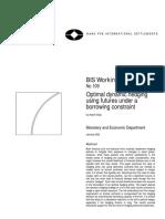 Optimal dynamic hedging - BIS.pdf