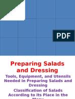 Preparing Salads and Dressing aug22