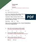chestionar pt studenti