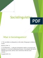 the study of sociolinguistics.ppt
