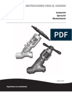 Manual Valvulas Edward operacion y mantenimiento