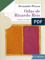 Odas de Ricardo Reis - Fernando Pessoa