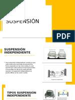 Presentación suspension y direccion