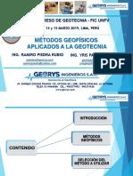Método Geofísico - Ing. Ramiro Luis Piedra Rubio