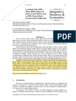 The Effect of Price to Book Value (PBV), DPR, ROE, ROA and EPS toward stock LQ45 INDONESIA 2006-2011.pdf