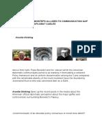 Vatican in Wiki Leaks Land