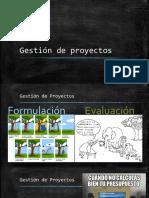 2,3. Gestión de Proyectos