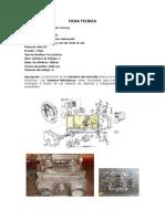 FICHA TECNICA bomba hidraulica