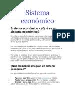 Sistema económico urbanism0o