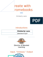 create with chromebooks