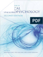 1. Handbook of clinical neuropsychology (2012). Jennifer Gurd, Udo Kischka, John Marshall.pdf