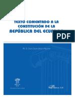 Texto Comentado a la Constitucion