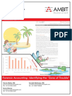 Ambit- Strategy eRrgrp- Forensic accounting Identifying the 'Zone of Trouble'