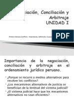 Primera Semana Importancia del curso y Conflicto