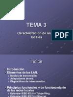 2019 Tema 3. Presentacion. Caracterización de redes de área  local.pdf