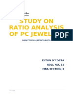 A CASE STUDY ON RATIO ANALYSIS OF PC JEWELLER