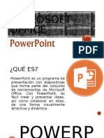 ENTORNO GRAFICO DE POWER POINT