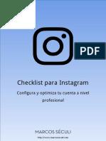 Checklist-Instagram