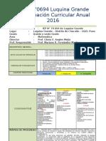 p.c.a. 70694 - 2016 Quinto Grado