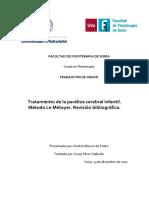 TFG Metodo Le Métayer, tratamiento de la paralisis cerebral infantal (revision bibliografica).pdf