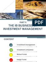 6. The IB Business of Investment Management