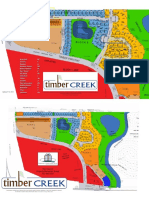Timber creek plat map