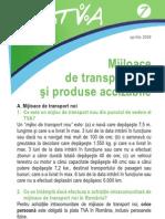 Pliantul 7 Mijloace de Transport Noi Si Produse Accizabile