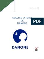 Analyse Externe Danone Cha
