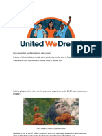 UWDAction - DACA Allowed Her to Live Unapologetically